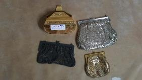 Whiting & Davis Purses & Sacha Etched Metal Purse