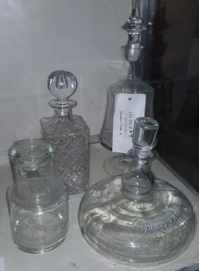 Captains Decanter Bottle & Others