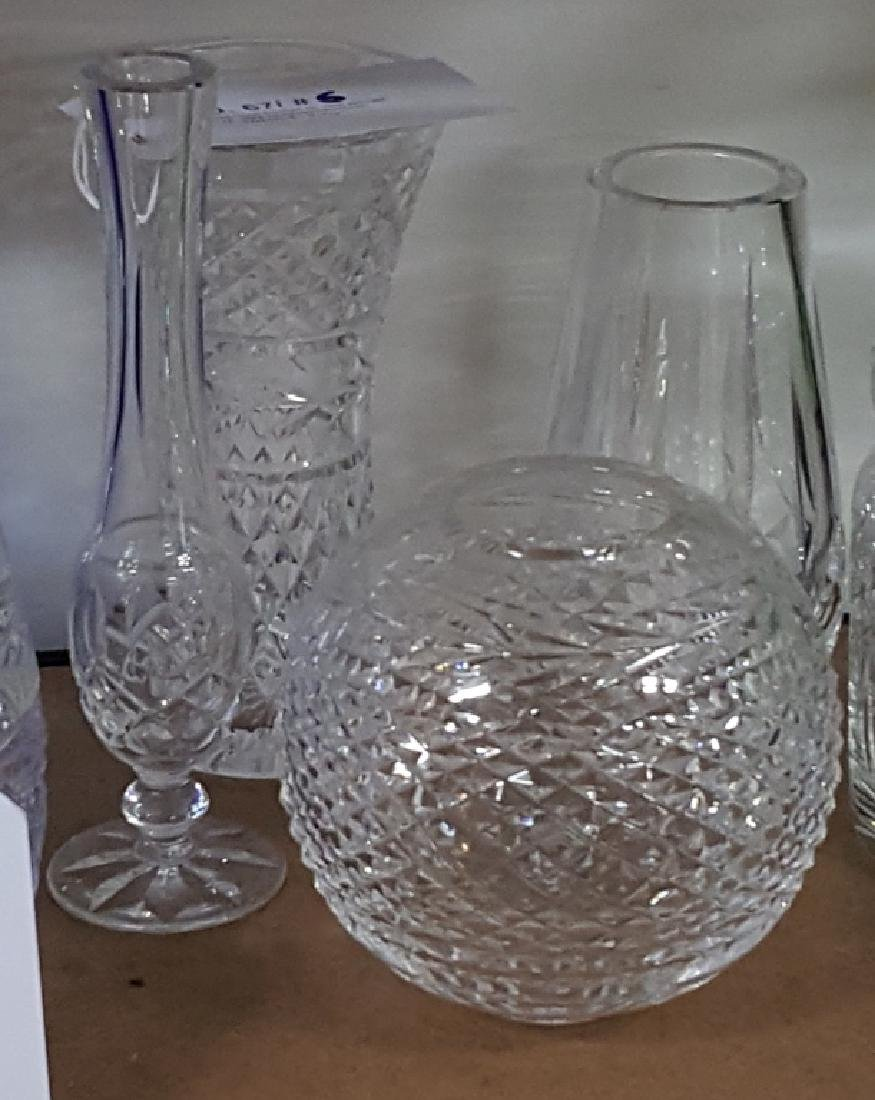 Waterford Glandore & Lismore Vase Collection