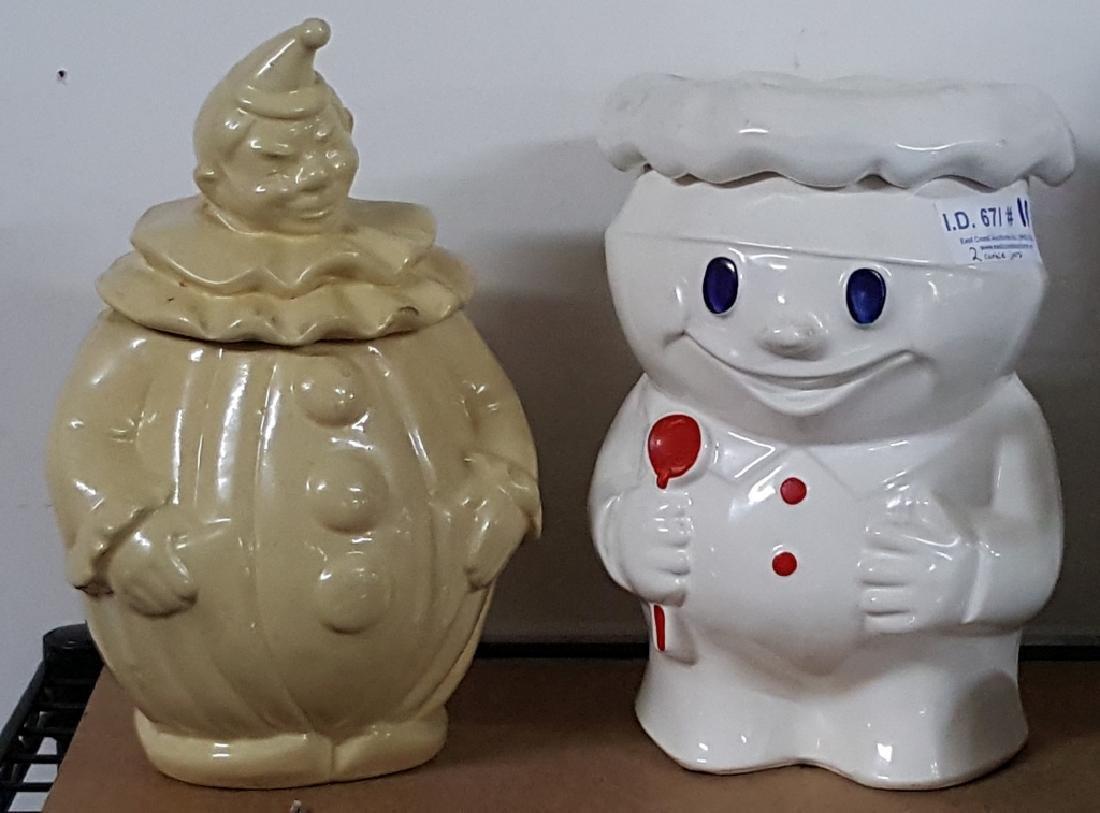 American Art and McCoy Vintage Cookie Jars