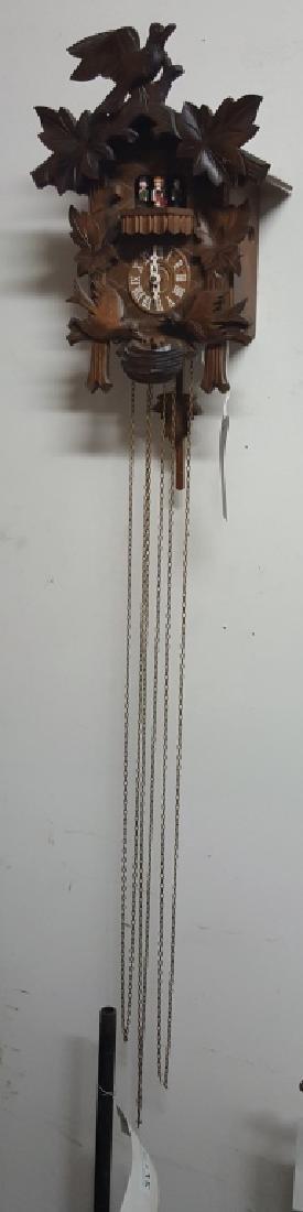 Regula Black Forest German Cockoo Clock