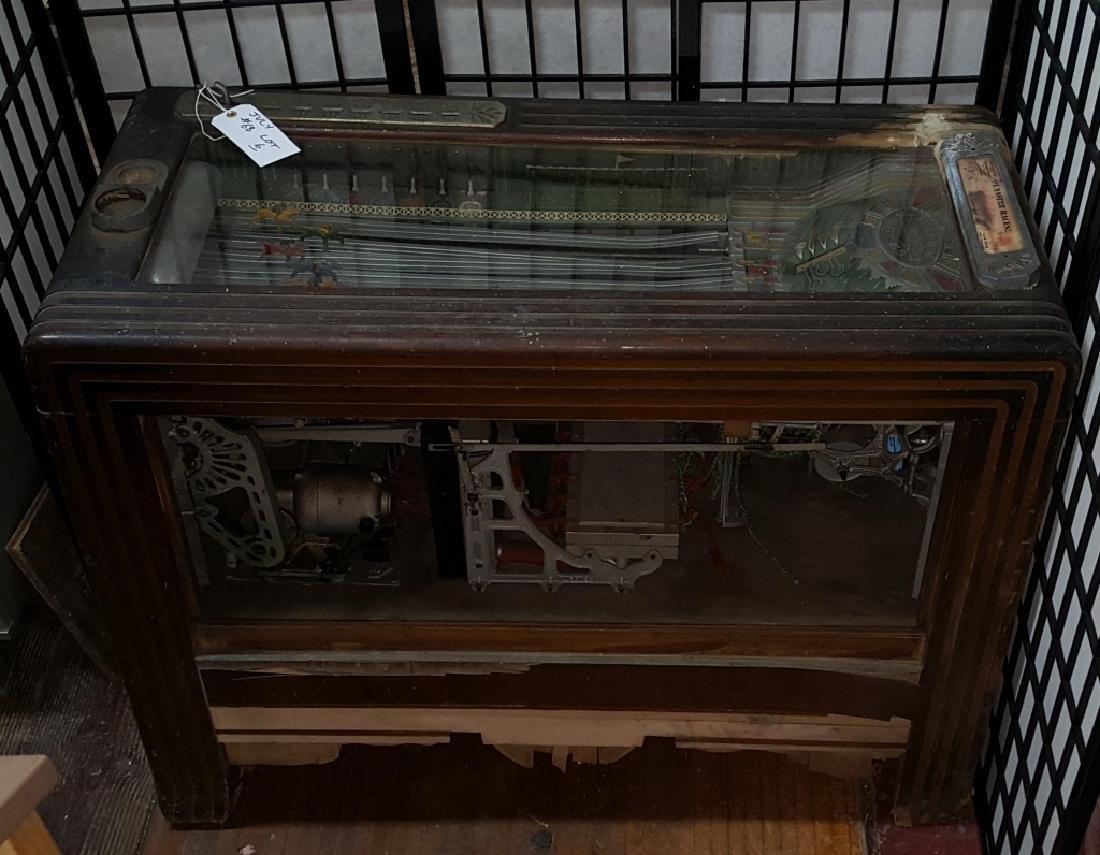 Pace's Races Vintage Horse Race Arcade Machine