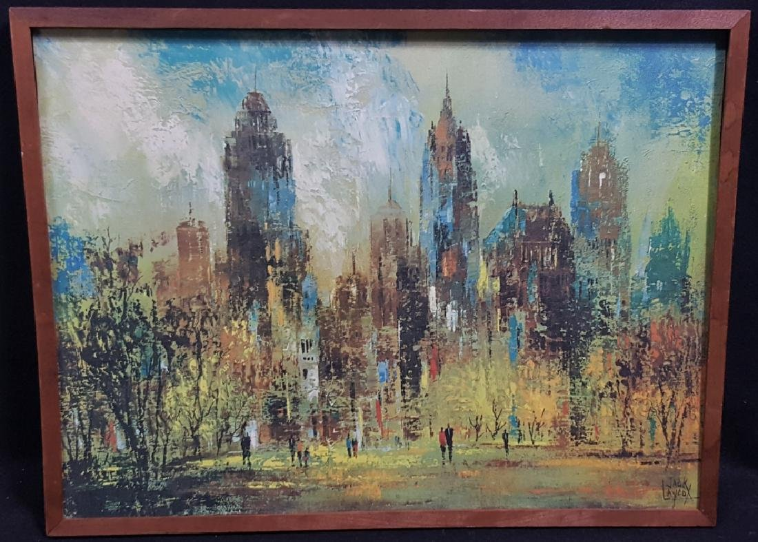 "Jack Laycox ""Sunday Afternoon"" Print on Canvas"