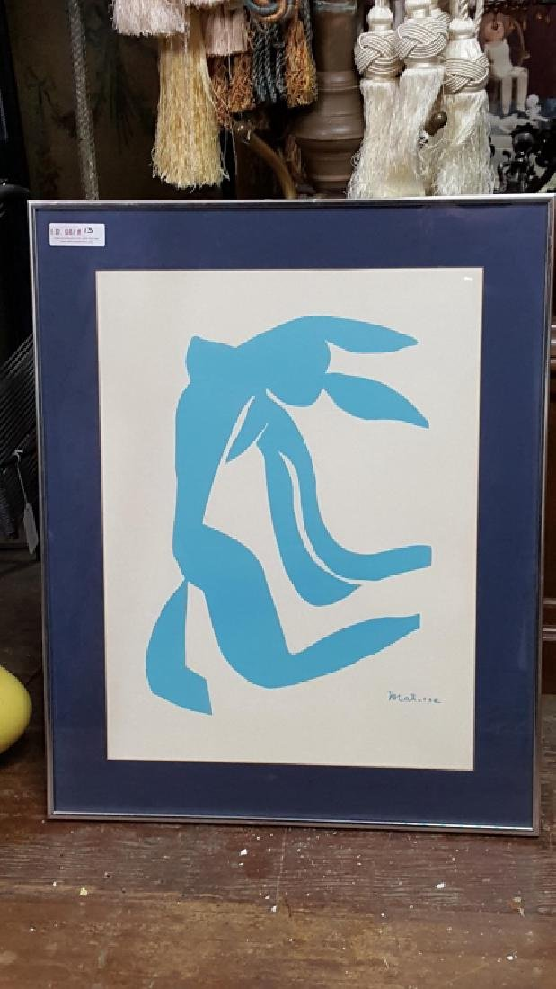 Lithograph (after) Matisse