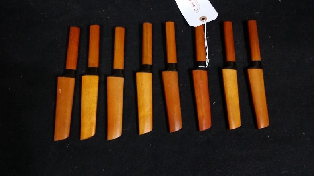 (8) Suncraft Mid Century Steak Knives