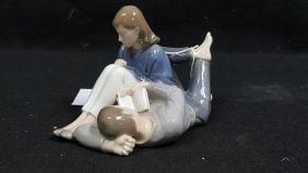 Royal Copenhagen Figure Man & Woman
