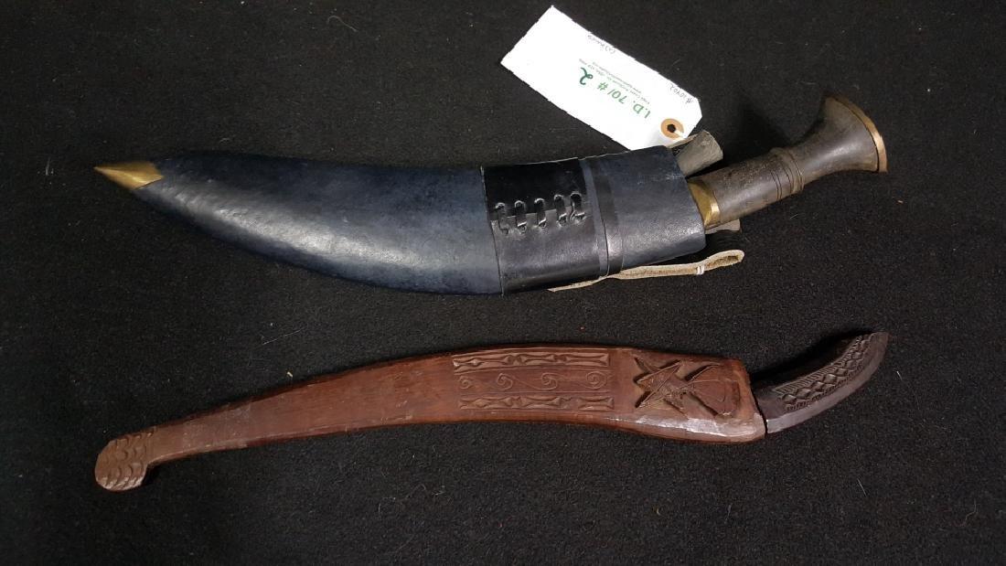 Gurkha Kukri Knife / Small Daggers & Sheath with..