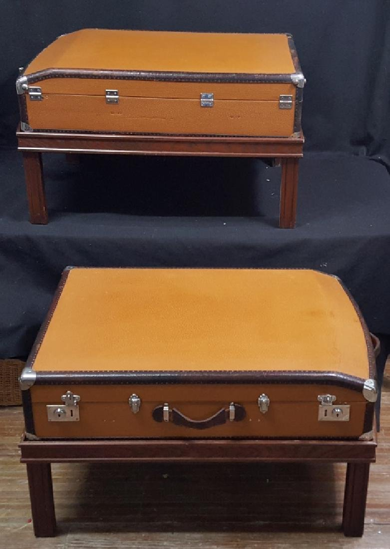 Original Mercedes-Benz / Karl Baisch Suitcase Set