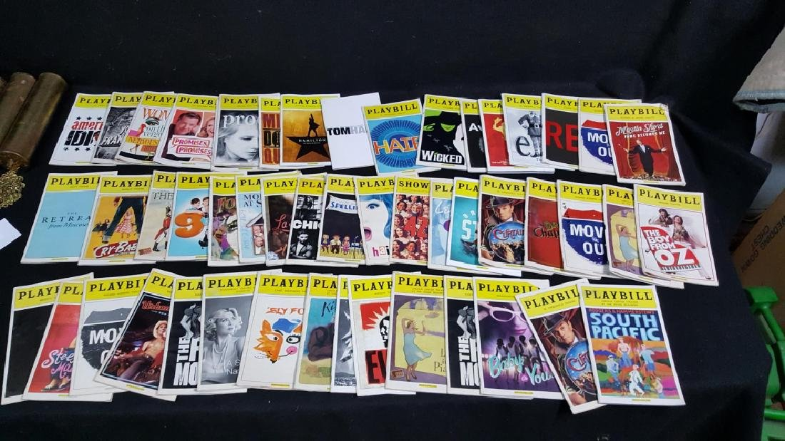 Collection of 50 Broadway Play Bills