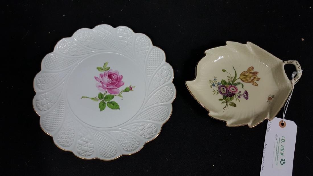 Meissen & Royal Copenhagen Floral Porcelain