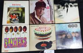 Excellent Collection of Classic Rock LPs