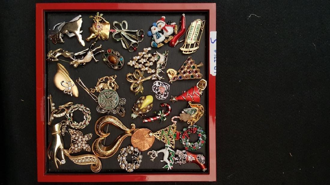 Vintage Enamel & Metal Pin Collection