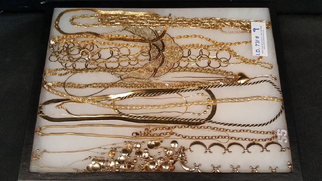 Gold Tone Necklaces / Chains