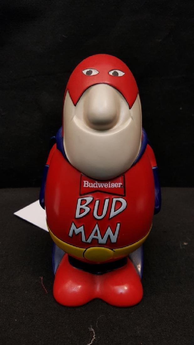 Bud Man Budweiser Stein Ceramarte Brazil
