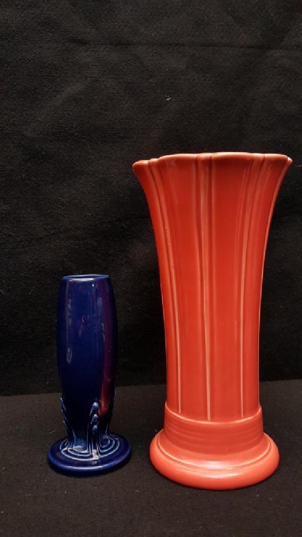 Two Modern Fiesta Vases