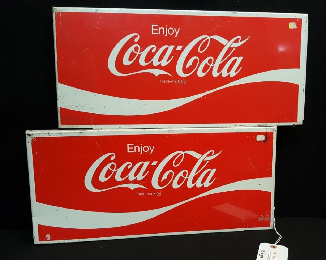 Metal Coca-Cola Signs