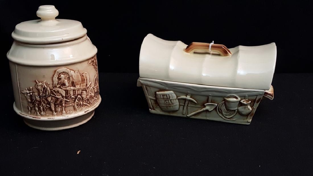 McCoy Chuck Wagon Western Cookie jars