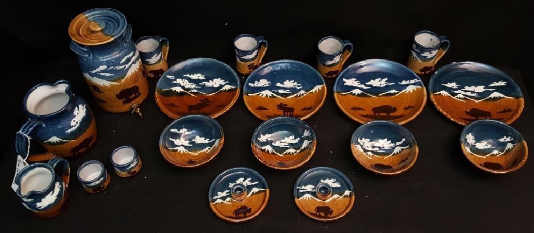 Stoneware; Montana Earth Pottery