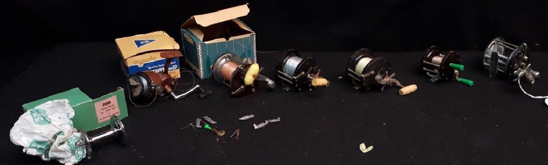 Fishing Reels; Penn, Pflueger and Monospool