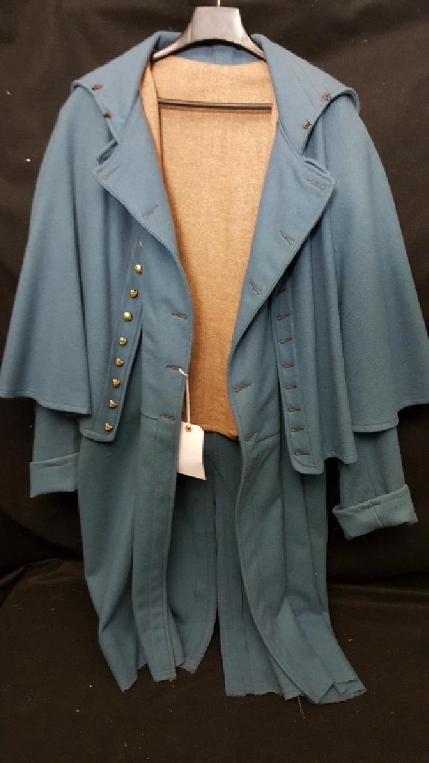Civil War Reenactment Uniform Blue Overcoat