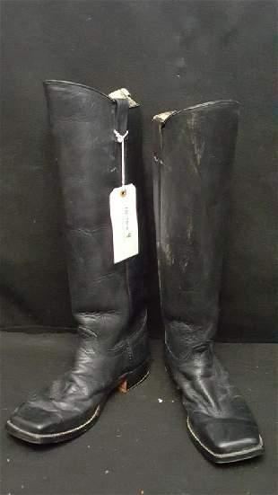 Civil War Reenactment Officer Boots W Stirrups