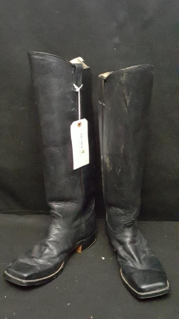 Civil War Reenactment Officer Boots W/ Stirrups