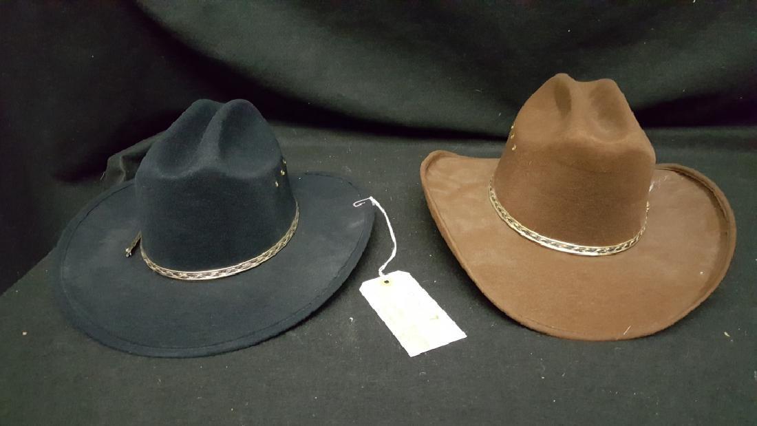 (2) Western Express Cowboy Hats