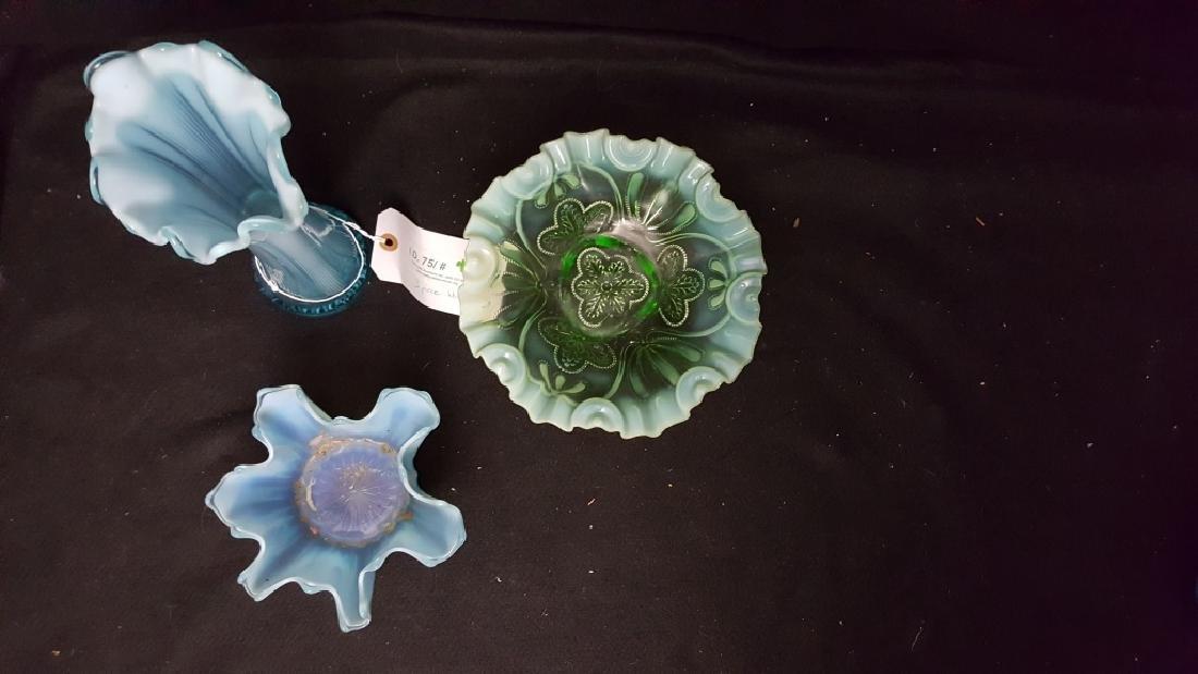 Iridescent Blue Handkerchief ? Glass - 2