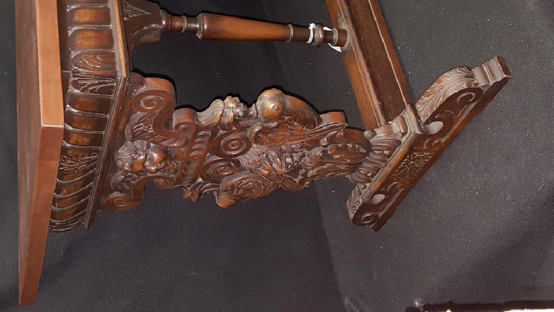 French Renaissance Style Console / Library Table - 3