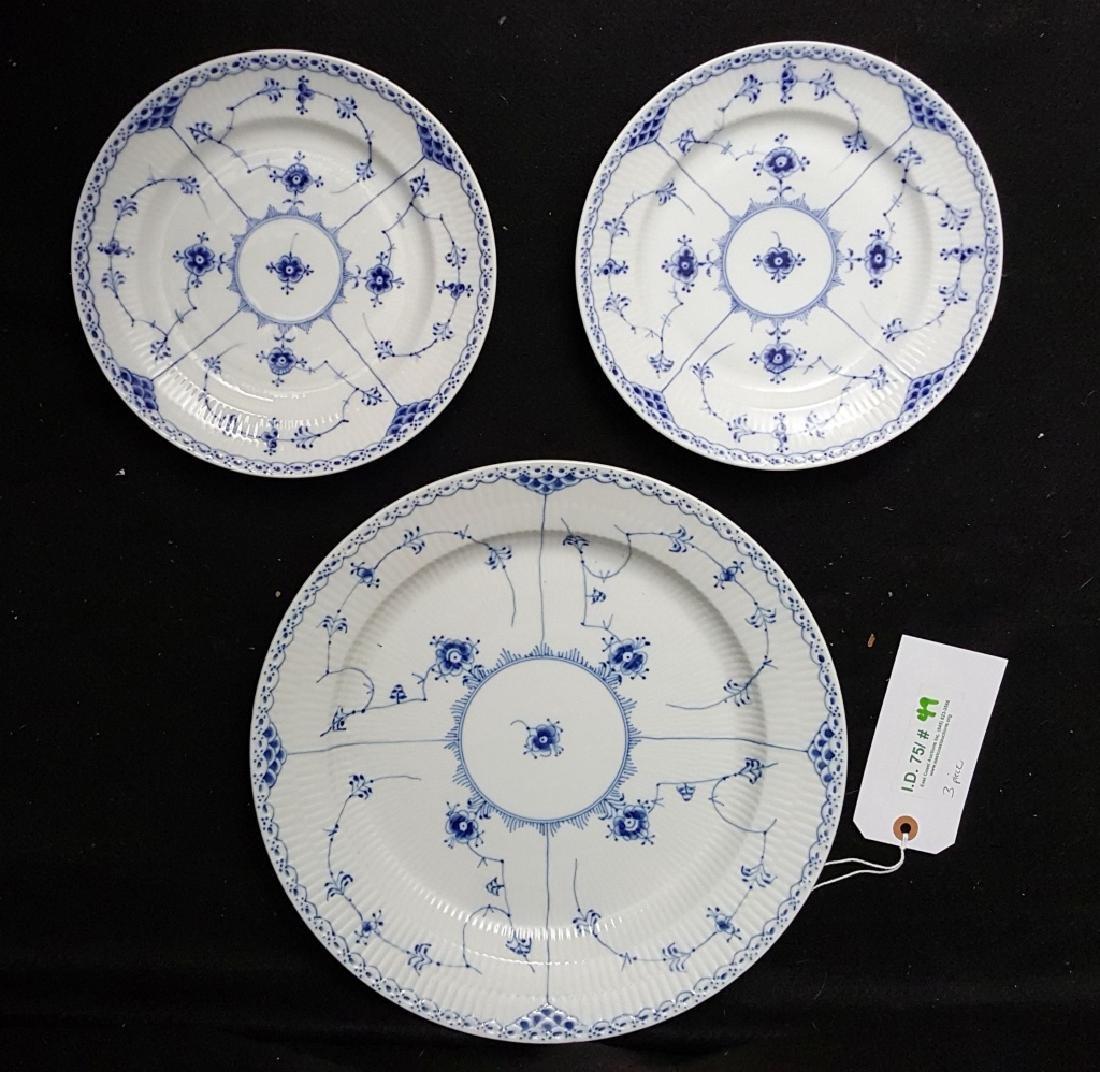 Royal Copenhagen Blue & White Lace Porcelain