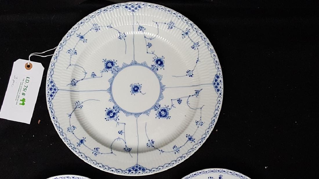 Royal Copenhagen Blue & White Lace Porcelain - 2