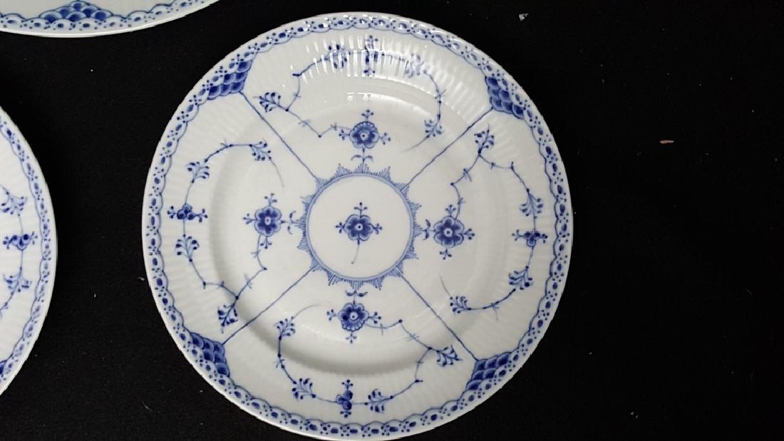 Royal Copenhagen Blue & White Lace Porcelain - 3