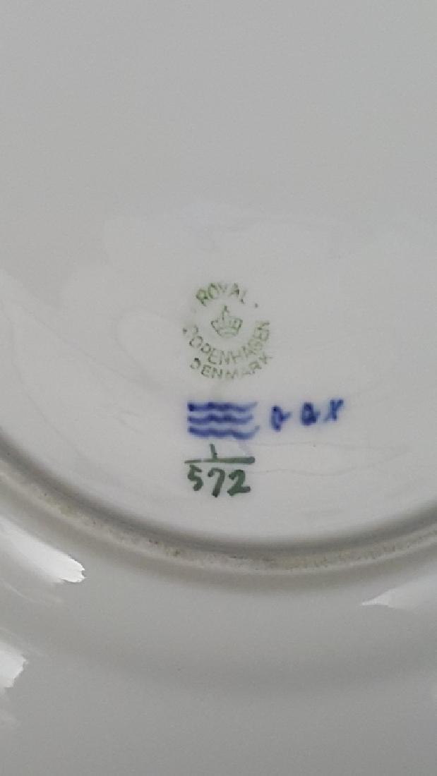Royal Copenhagen Blue & White Lace Porcelain - 5
