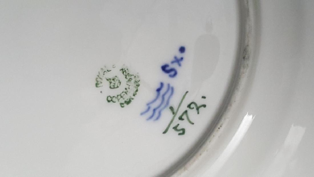 Royal Copenhagen Blue & White Lace Porcelain - 6