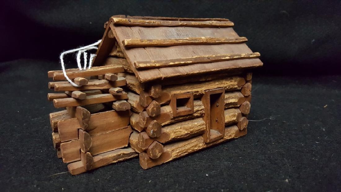 American Folk Art Log Cabin - 2