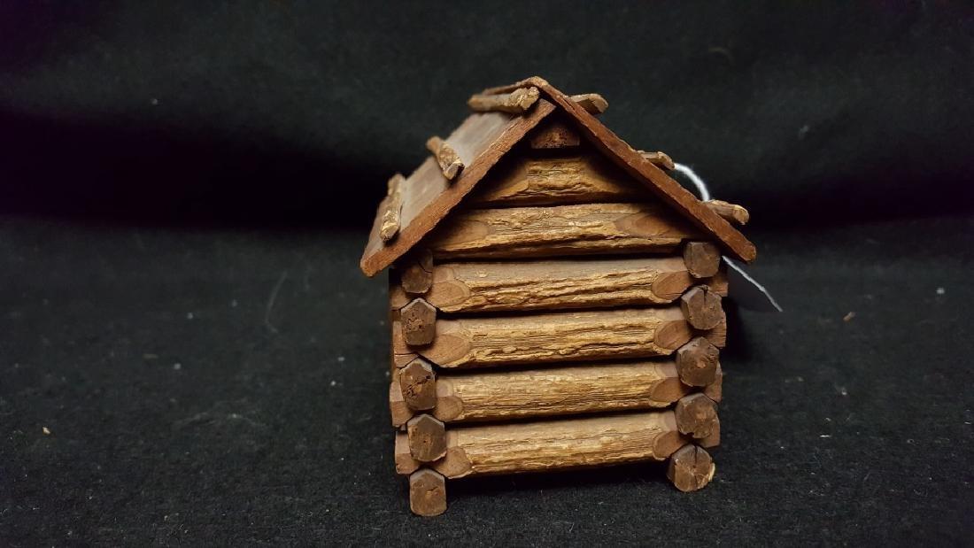 American Folk Art Log Cabin - 3