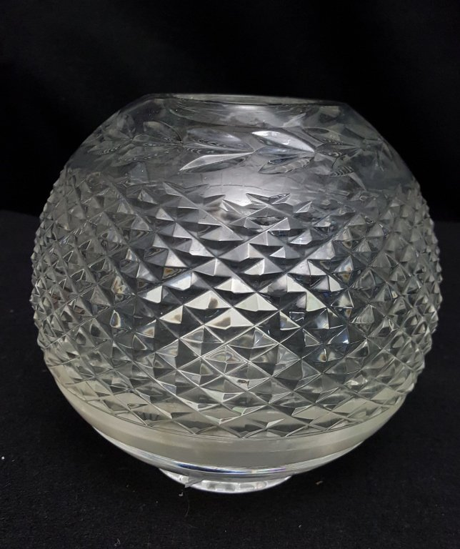 Waterford Crystal Vase / Rose Bowl