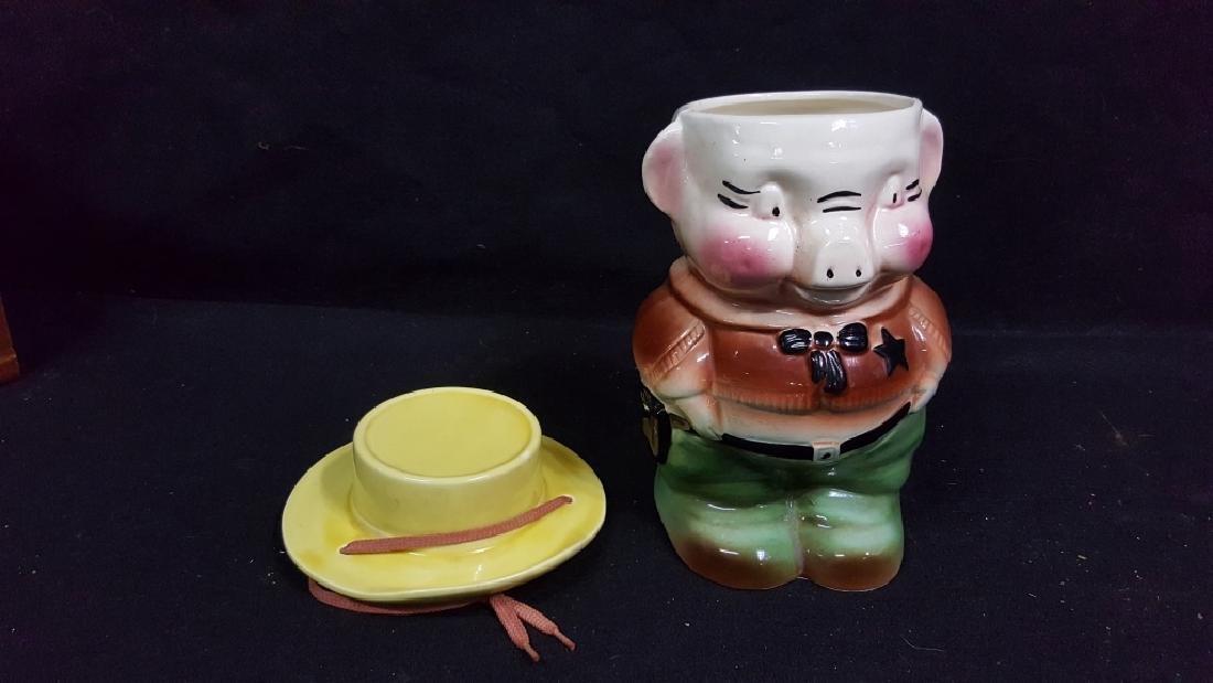 Robinson-Ransbottom Ceramic Sheriff Cookie Jar - 2