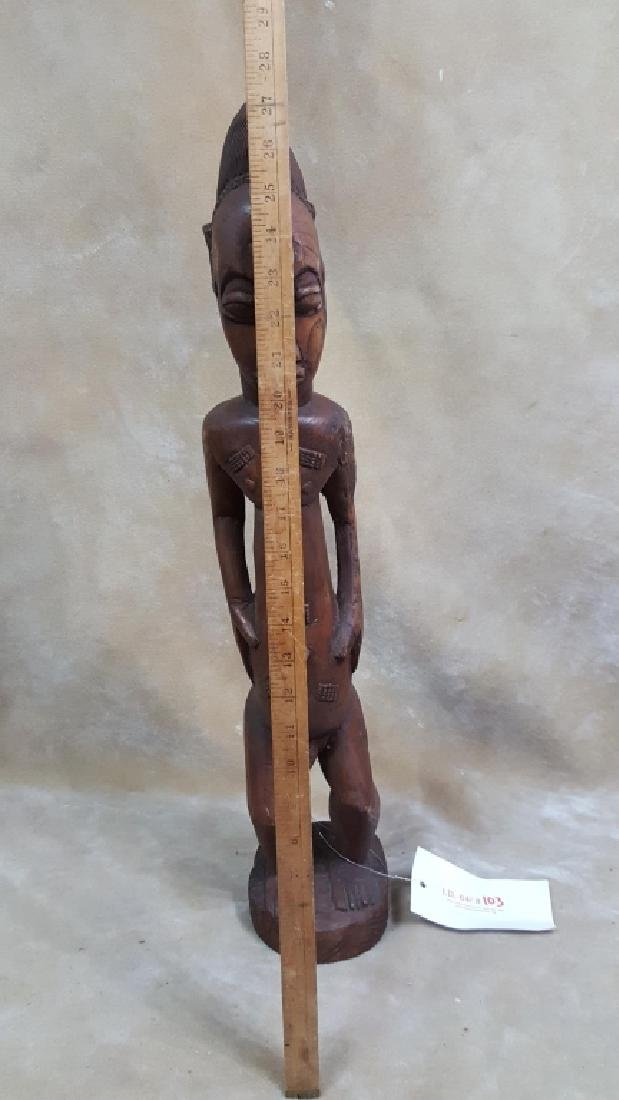 Large African God Carving - 2