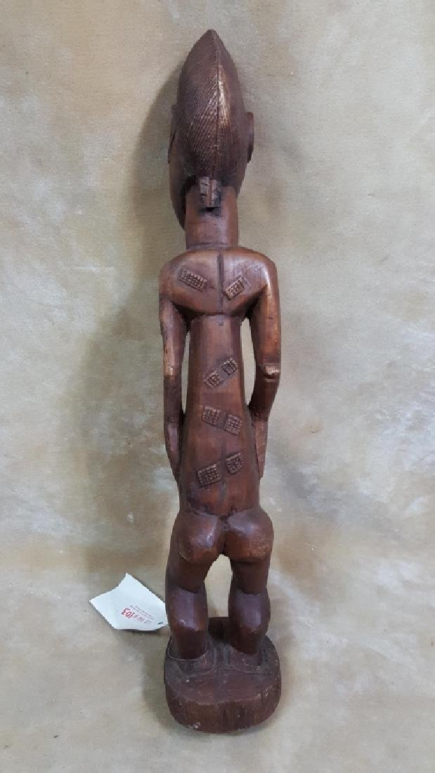 Large African God Carving - 4