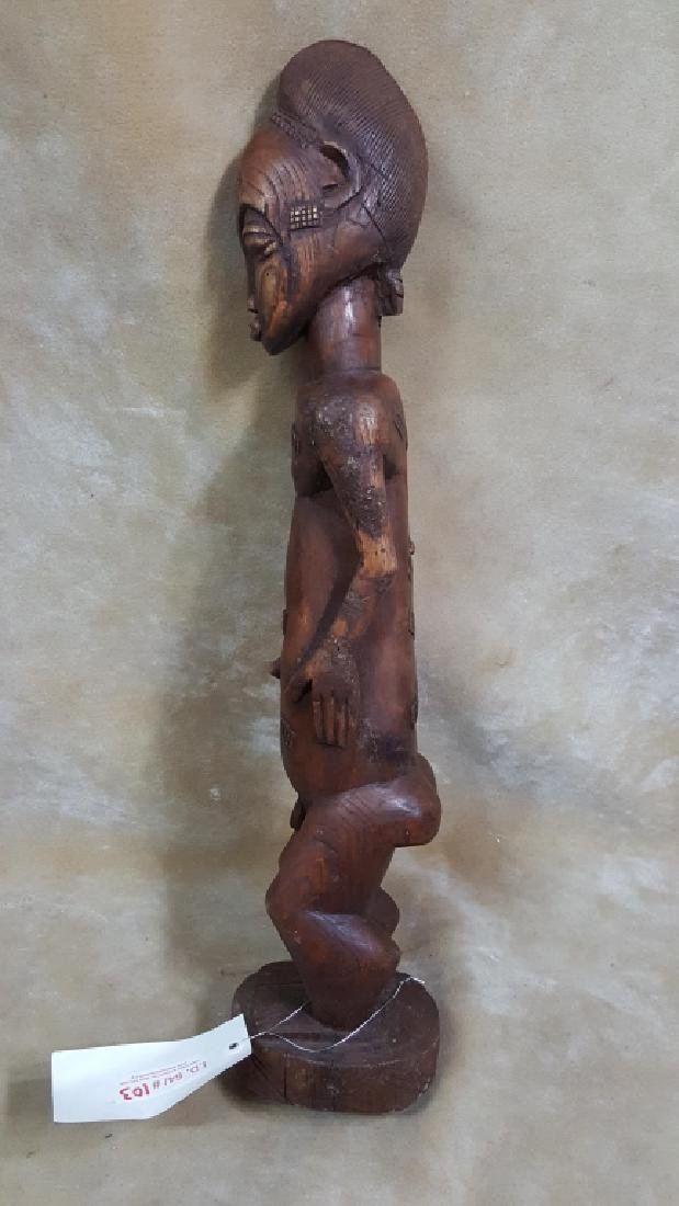 Large African God Carving - 5