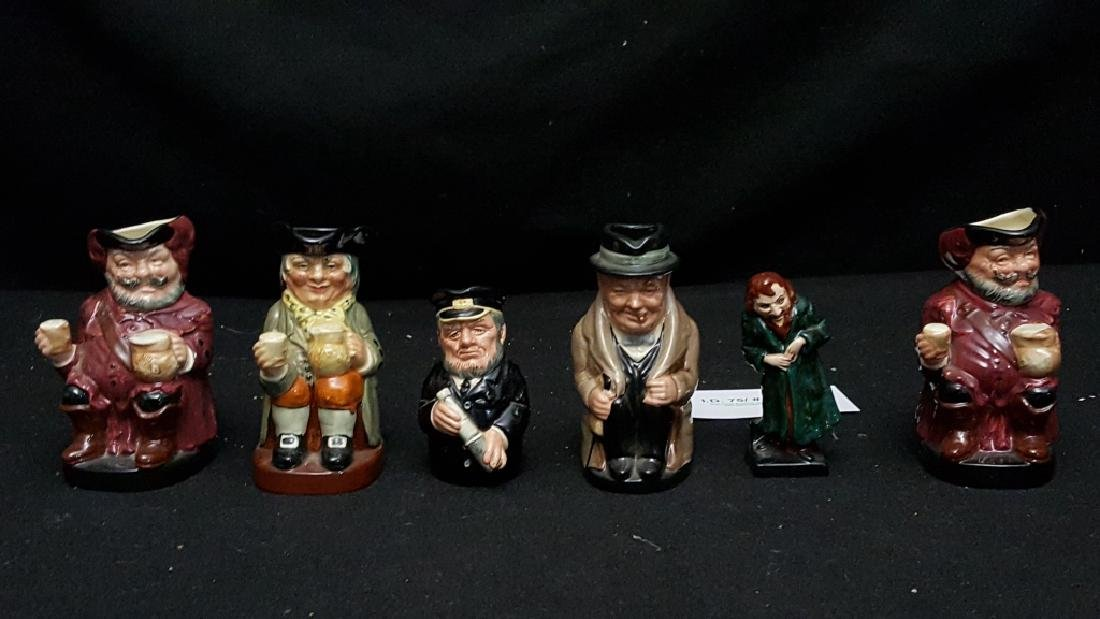 Royal Doulton Toby Mugs and Figure