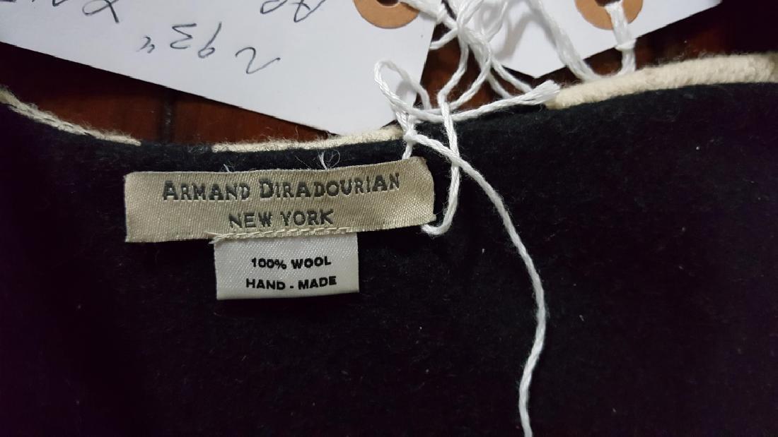 An Armand Diradourian 100% Wool Zebra Rug - 2