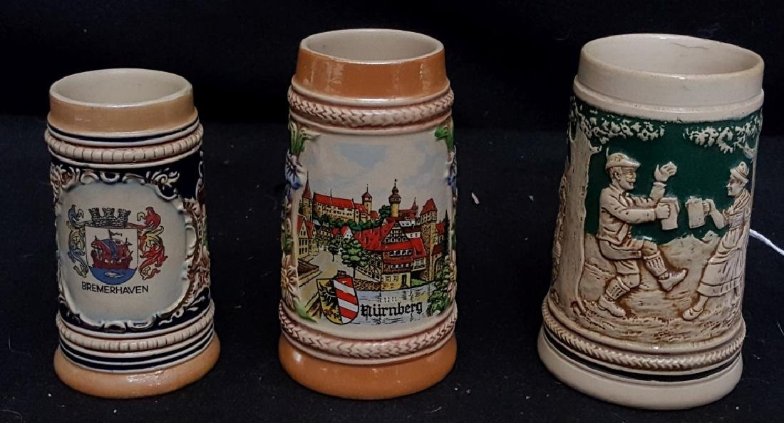 Small German Beer Steins