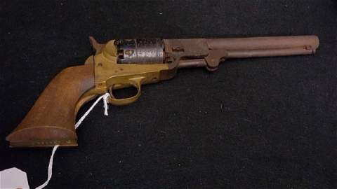 Back Powder Only 44Cal Italian made Navy Revolver
