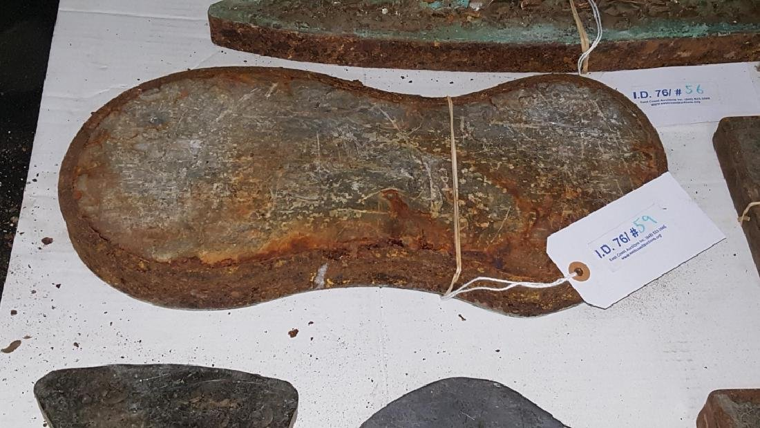 Early 19thC Copper and Lead Architectural Mold - 4