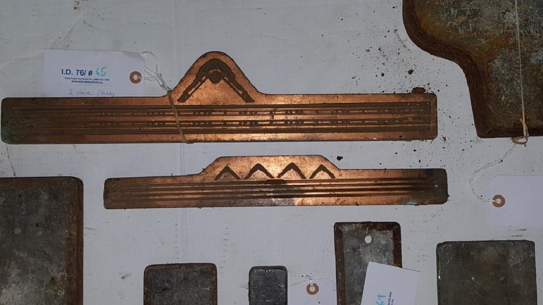 Early 19thC Copper and Lead Architectural Molds