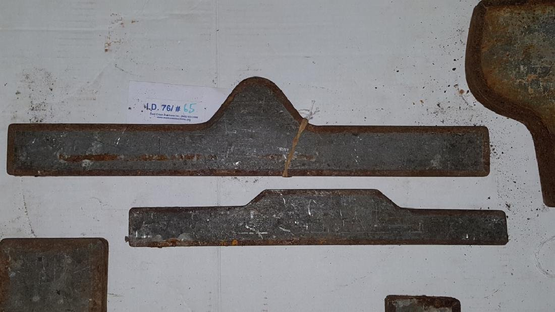 Early 19thC Copper and Lead Architectural Molds - 3