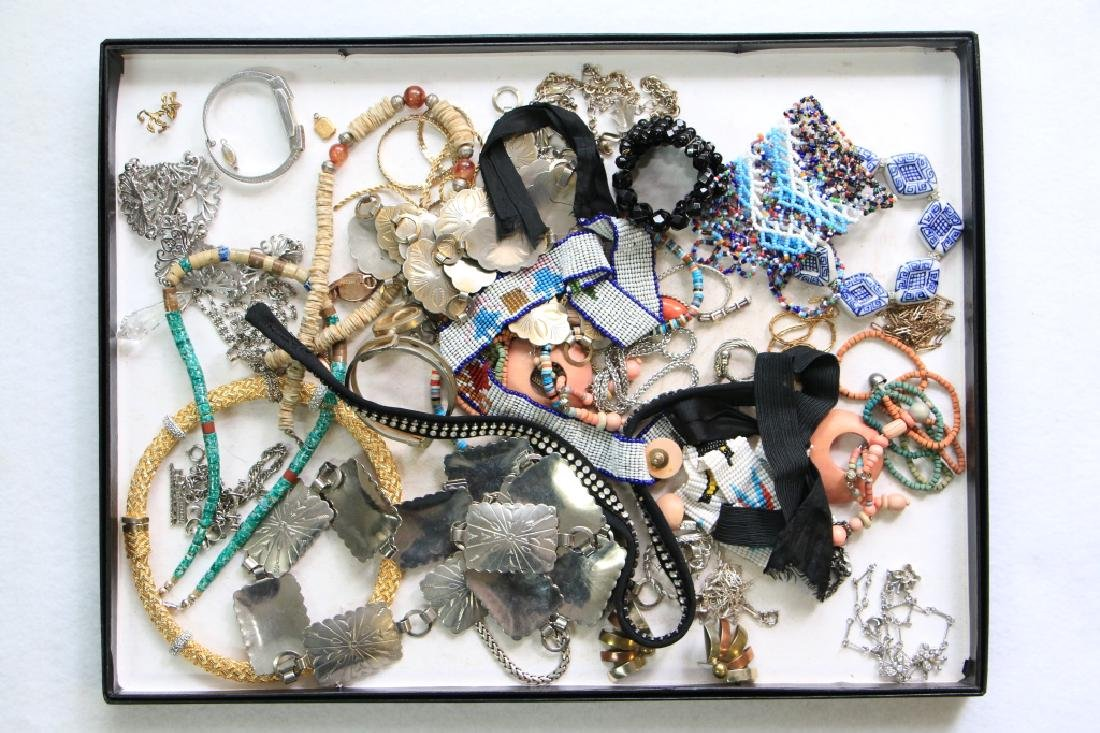 Large lot assorted estate costume jewelry
