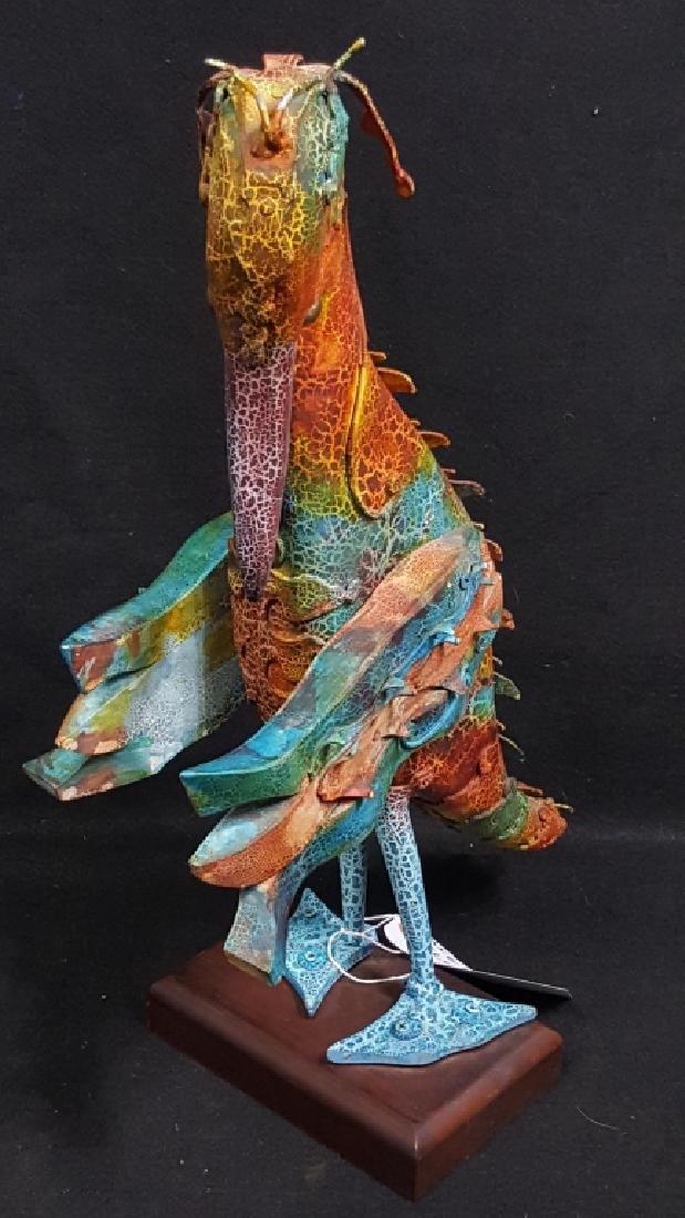 "Miguel Illescas Sculpture ""Patas Azules"""